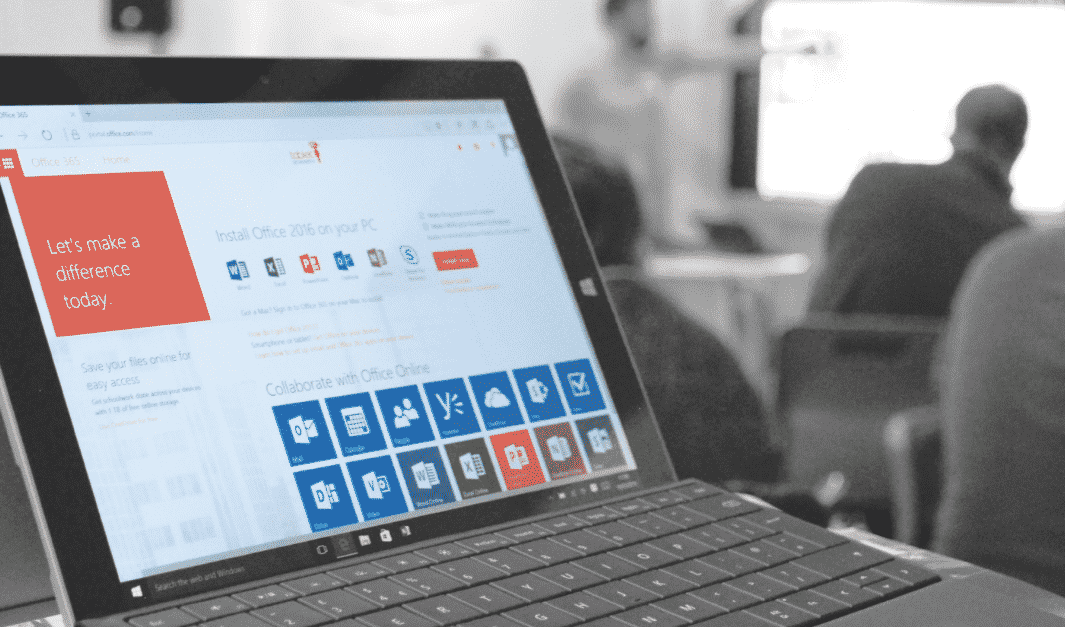 Office 365 on Microsoft Surface